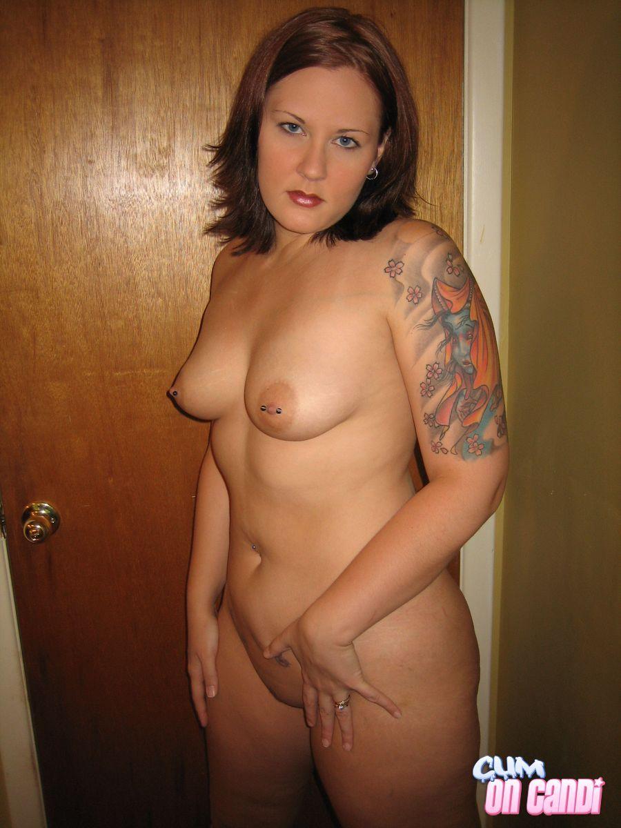 Naked shower taking