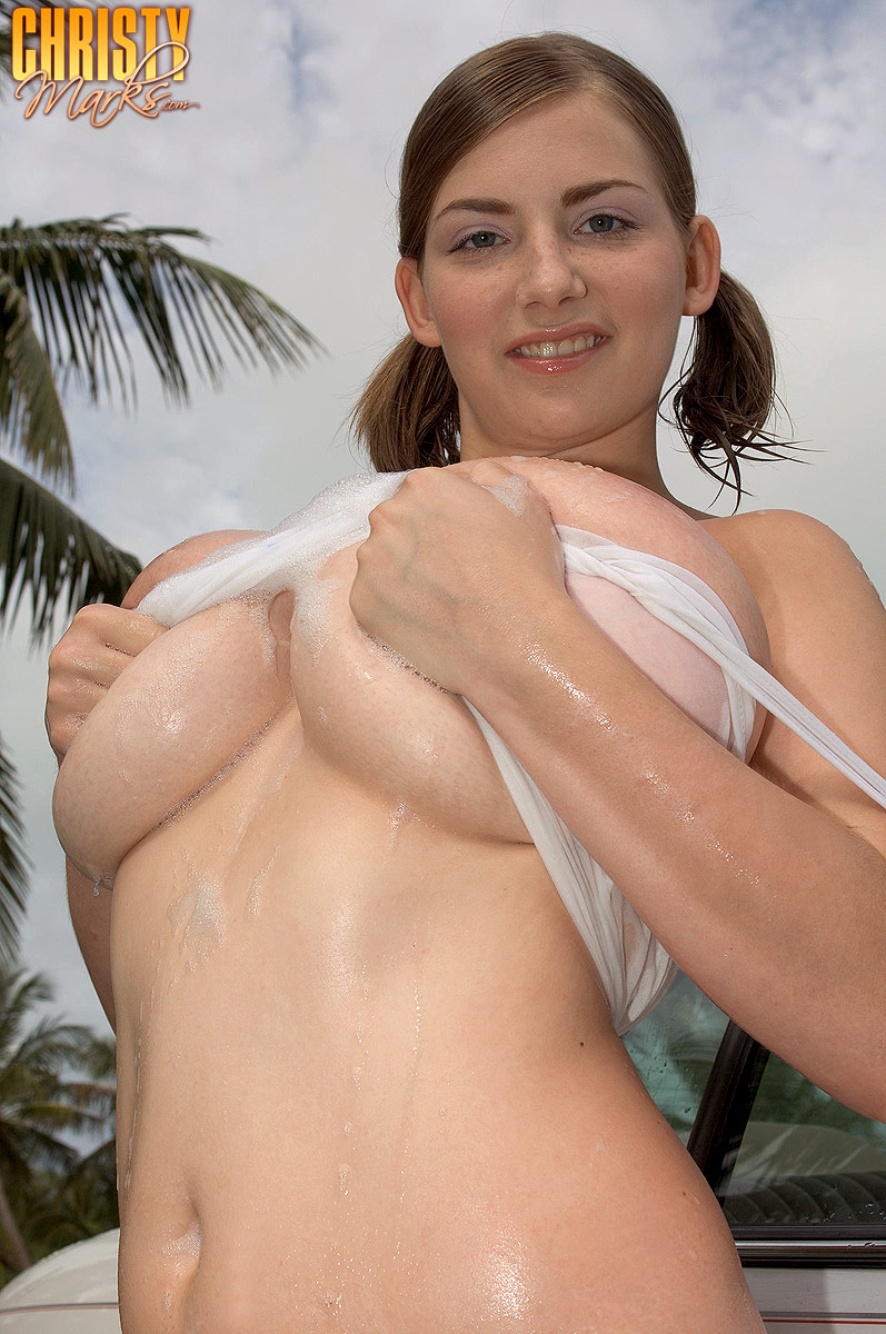 christy marks shows her big natural tits 005 Retro Mature Sex