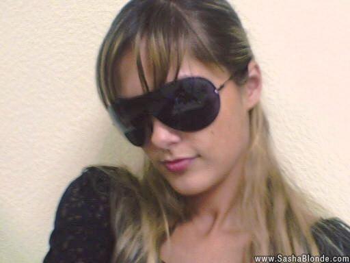 sasha blonde dildo