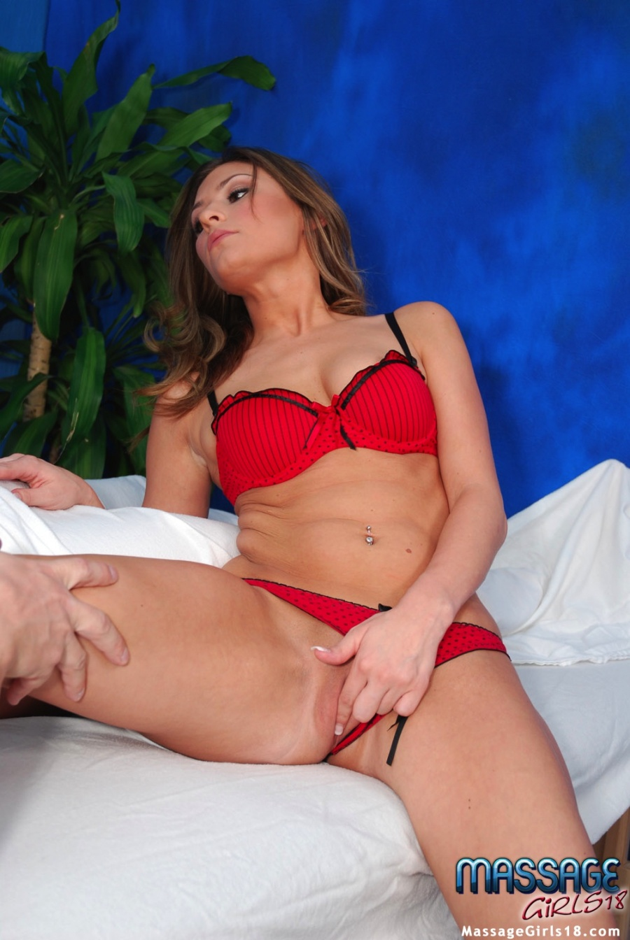 massaging a women Victoria