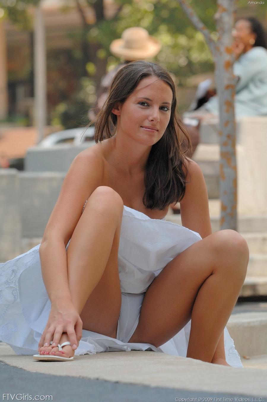 Public sexy hot girls